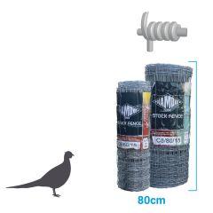 Game Bird Stock Fence HT6-80-22 100m