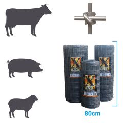 X fence Stock Fence XHT8-80-22