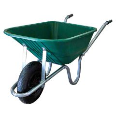 Filly Wheelbarrow 110 Litre Poly Pan Puncture Proof Wheel