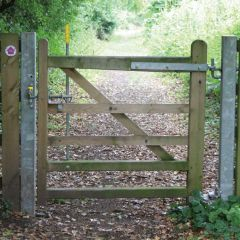 Denstone Bridle Gate