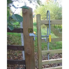 Easy Latch for Timber Gate 2 Way Opening