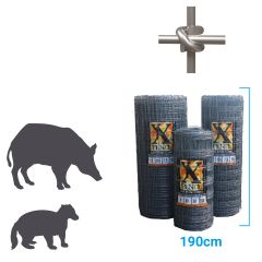 Xfence Badger / Boar Fence XHT17-190-7.5 50m