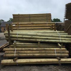 Machine Rounded Timber Poles