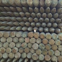 Fencing Machine Round Stakes