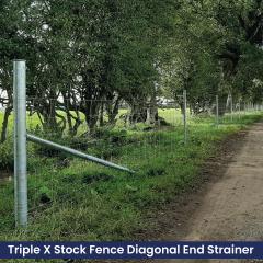 Triple X End Strainer