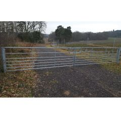 Ashbourne 7 Rail Metal Field Gate Pair 7.2m Kit