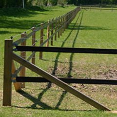 100m Studrail Horse Fencing Kit