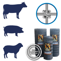 X fence Stock Fence XHT8-80-15