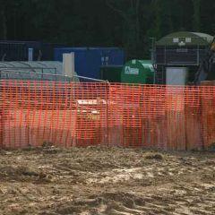 Orange Barrier Safety Fencing