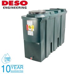 Deso SL1000BT 1000 Litre Slimline Bunded Oil Tank