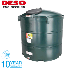 Deso V1340BT 1340 Litre Bunded Oil Tank