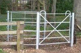 Parkland Kissing Gate