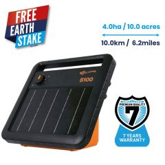 Gallagher S100 Portable Solar Fence Energiser