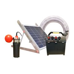 Battery and Solar Water Pump