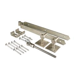 Hinge Set with Square Plates