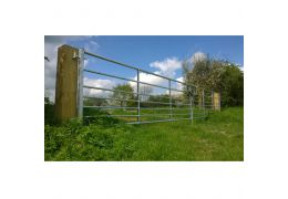 Ashbourne Metal Gate Pair