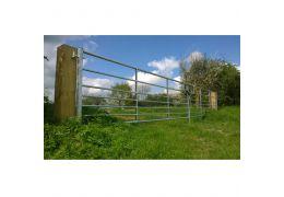 Ashbourne Metal Gate Pair
