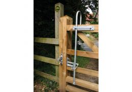 Easy Latch for Wooden Gate