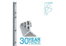 Clipex Standard Post 1.8m