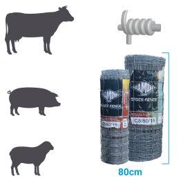 Hinge Joint Medium Stock Fence C8 80 15