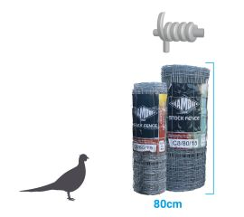 Game Bird Stock Fence HT6-80-22 100m