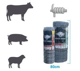 Hinge Joint Medium Stock Fence C8-80-15