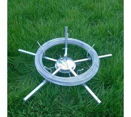 Galvanised Spinning Jenny wire dispenser
