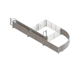 Fixed sheep handling system basic kit A