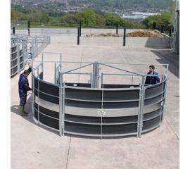 Rotex semi circular forcing system