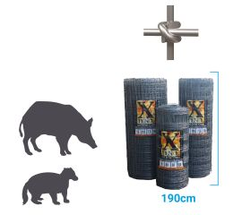 X fence Badger / Boar Fence XHT17-190-7.5 50m