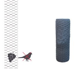 Foretress Value Fruit & Vermin Protection Hex Wire (13mm mesh) 50m Roll