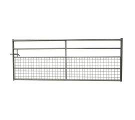 Half Meshed Field Gate