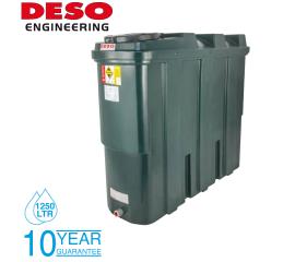 Deso Bunded Oil Storage Tank - Slim Line 1250 Litres