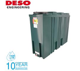 Deso Bunded Oil Storage Tank - Slim Line 1400 Litres