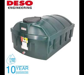Deso Bunded Oil Storage Tank - Low Profile 1200 Litres