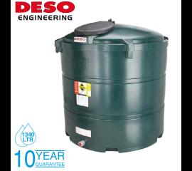 Deso Bunded Oil Storage Tank - Vertical 1340 Litres