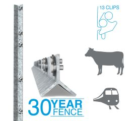 Clipex Railway/Cattle Beefy Post 2.1m