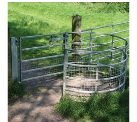 Mobility Friendly Large Woodstock Kissing Gate