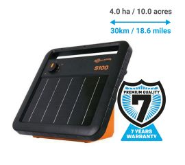 Gallagher S100 Portable Solar Fence Energiser