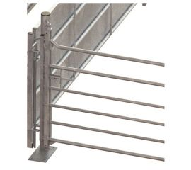 76mm Hang Post with Pivot to Suit Swing and Slide Gate