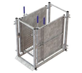 Three Way Drafting Gate