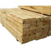 Green Oak Sleeper 2440mm x 200mm x 100mm