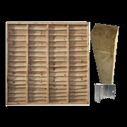 Heavy Duty Waney Edge Panel Kit