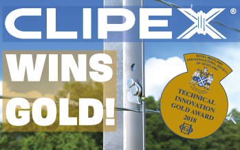 Clipex Fencing Wins Gold At The Royal Highland Show 2018