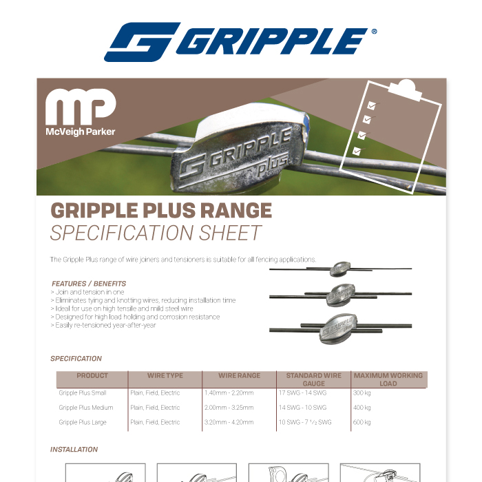 Gripple Plus Range