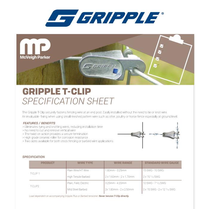 Gripple T-Clip