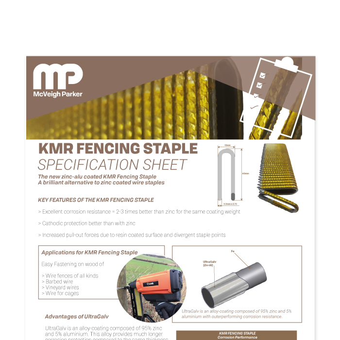 KMR Fencing Staples