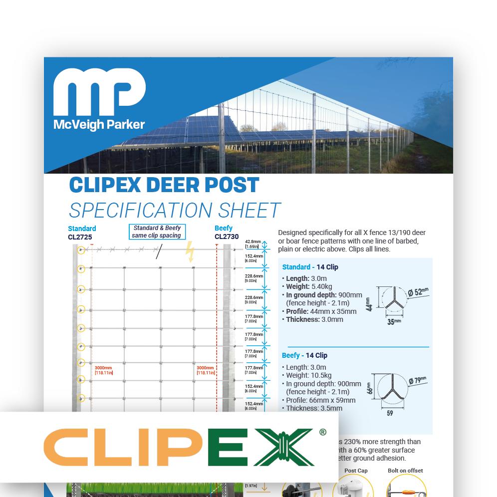Clipex Deer Posts