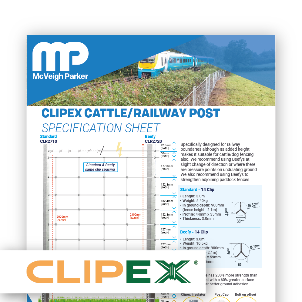Clipex Cattle / Railway Posts