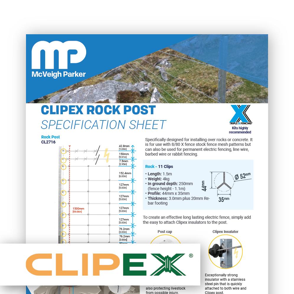 Clipex Rock Post